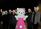 Tintab guys with Hello Kitty