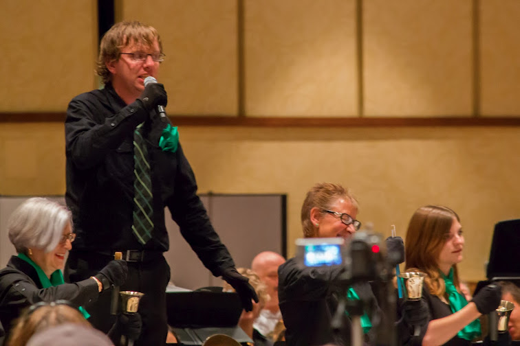 Ben speaking at bell performance