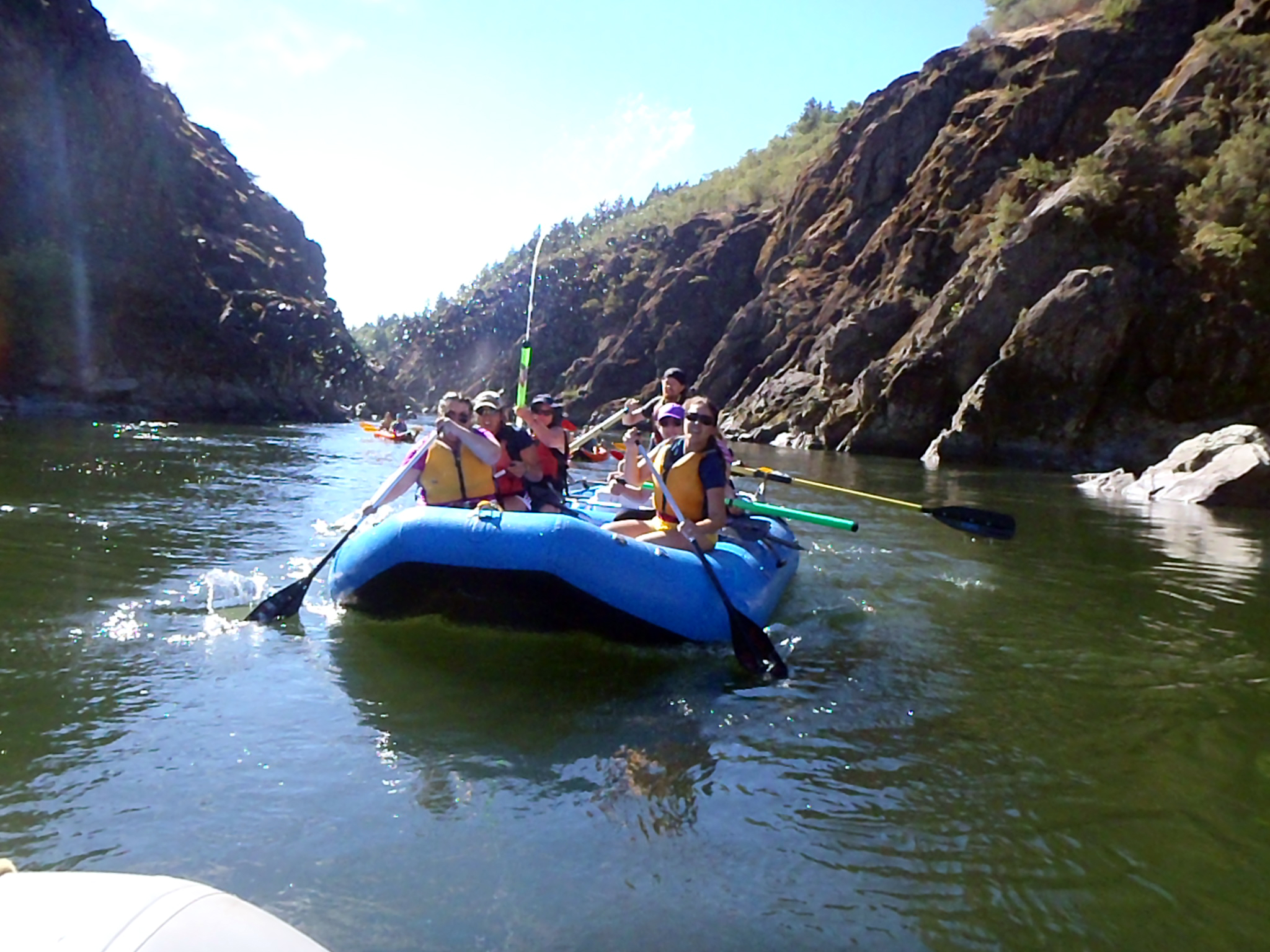 Rafting the Rogue River